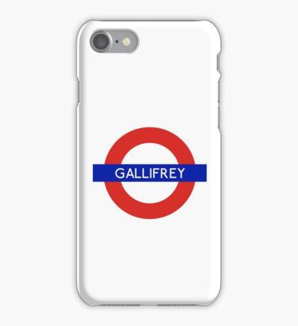 Doctor Who Gallifrey Tube Symbol iPhone Case/Skin