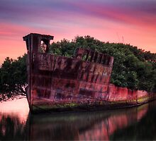 Shipwreck in Homebush Bay by BrettSimpson