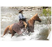High Country horseman Poster