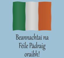 Beannachtaí na Féile Pádraig oraibh by stuwdamdorp
