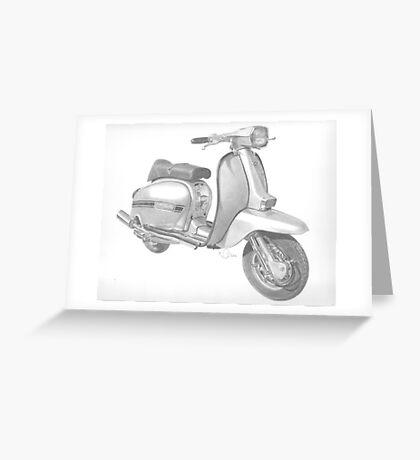Lambretta Greeting Card