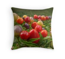 Chilli Jewels  Throw Pillow