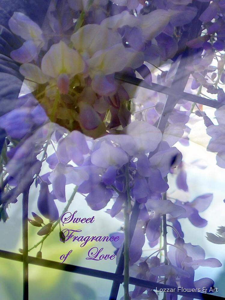 Sweet Fragrance of Love by Lozzar Flowers & Art