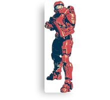 Master Chief needs you Canvas Print