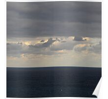Cloudy scenery from the Canary Islands - 01 Poster