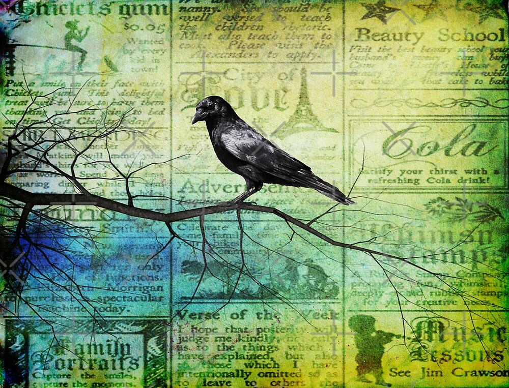 Portrait of a Raven by Rookwood Studio ©