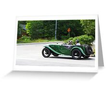 Oldtimer Excursion Greeting Card