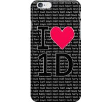 I <3 one direction iphone case! iPhone Case/Skin