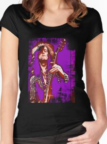 jimmy page Women's Fitted Scoop T-Shirt