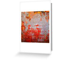 Brick Texture 8 Greeting Card