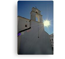 The sun shines on the righteous. Canvas Print