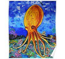 An Octopus's Garden Poster