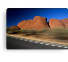 Blink and You'll Miss It! Canvas Print