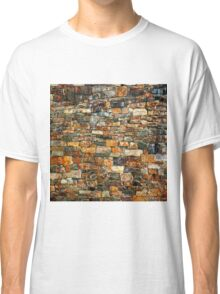Stacked Stone Texture Classic T-Shirt