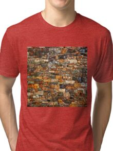 Stacked Stone Texture Tri-blend T-Shirt