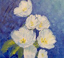 Tulips by Maria Karalyos