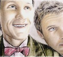 Doctor Who sketchcard by wu-wei
