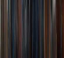 Moviebarcode: Captain America: The First Avenger (2011) by moviebarcode