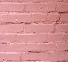 Fragment of a pink wall closeup by vladromensky