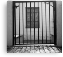 Window Jail Canvas Print