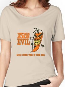 Vegetables are PURE EVIL! Women's Relaxed Fit T-Shirt