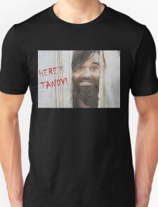 HERE'S TANDY! Last Man On Earth Phil Miller The Shining Spoof T-Shirt