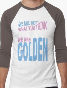 We Are Golden - Trans Men's Baseball ¾ T-Shirt