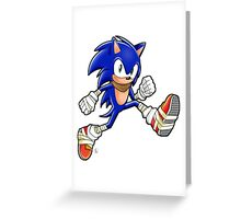 Sonic Boom Adventure Greeting Card