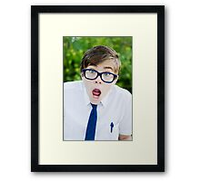 Whaaaaat!! Framed Print