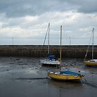 Three yachts... Fisherrow Harbour, Musselburgh by Glaspark