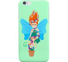 Floating in Flowers iPhone Case/Skin