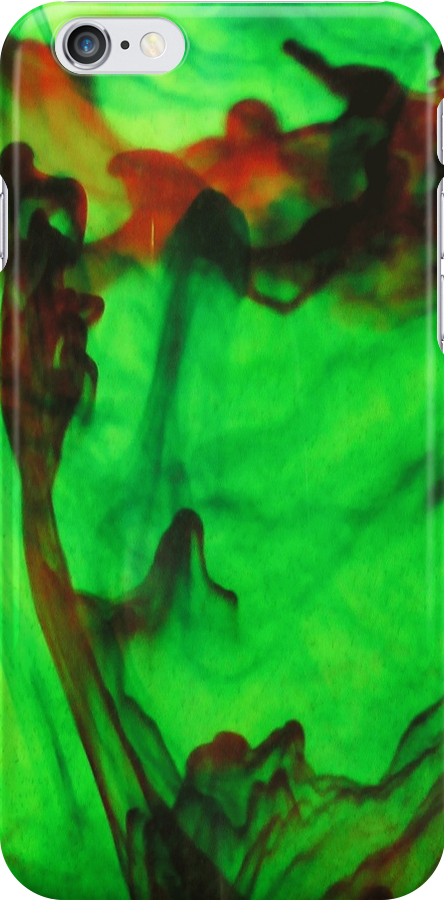 ink drop iphone 2 by Margaret Bryant