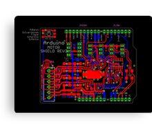 Arduino Motor Shield Reference Design Canvas Print