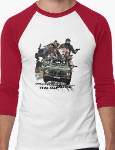 """Poliziottesco"" Italian Movies Men's Baseball ¾ T-Shirt"