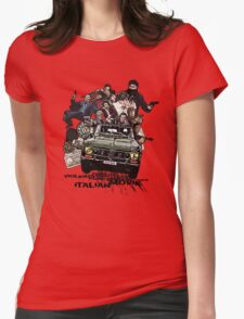 """""""Poliziottesco"""" Italian Movies Womens Fitted T-Shirt"""