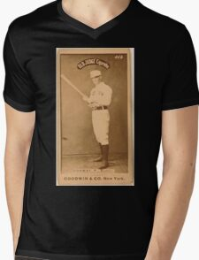 Benjamin K Edwards Collection Dick Conway Boston Beaneaters baseball card portrait 001 Mens V-Neck T-Shirt