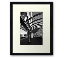 Bells Bridge BW Framed Print