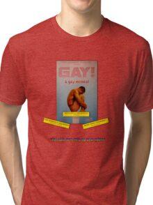 GAY! A GAY MUSICAL Tri-blend T-Shirt