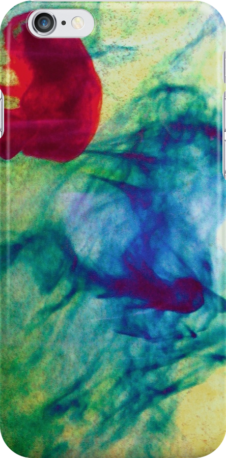 ink drop iphone by Margaret Bryant
