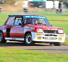 Renault R5 Turbo by Willie Jackson