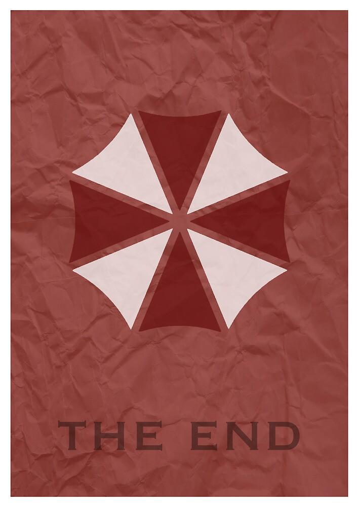 Resident Evil Umbrella Poster by Gennargh