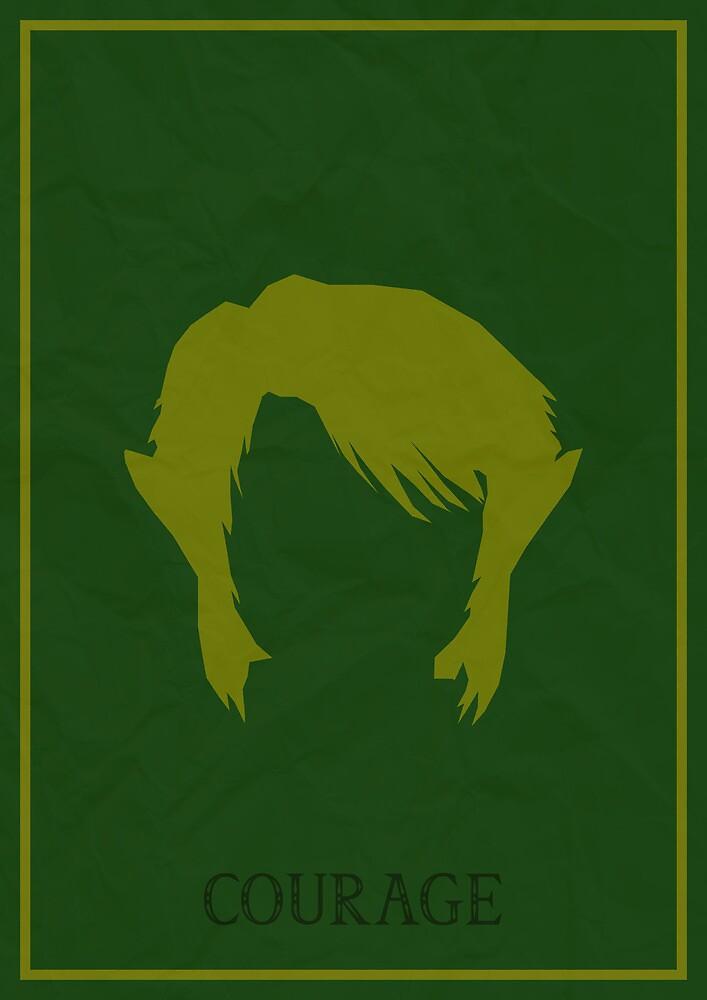 Link - The Legend Of Zelda - Courage by Gennargh