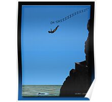 The Cliff Diver Poster
