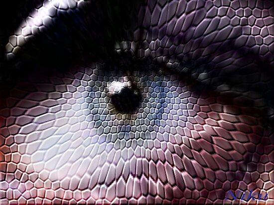 wild animals-eye by NIKULETSH