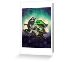 Kitsune Games Greeting Card