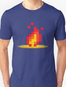 Flame pixel T-Shirt
