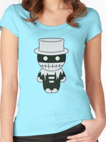 The Spirit of the Shadows (Character) - Black Box Films: BOXIES Women's Fitted Scoop T-Shirt