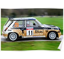 Francois Chatriot Renault 5 Maxi Poster
