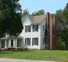 William R. Davie Residence - Halifax, NC by Sheila Simpson