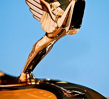 1931 Cord L-29 LeGrande Speedster Hood Ornament by Jill Reger